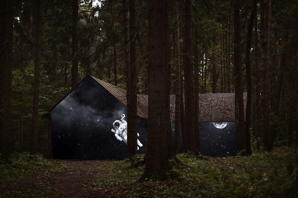 Снимок Forest российского фотографа Alex Bitiutskih из категории Enhanced (Open competition), вошедший в шортлист фотоконкурса 2018 Sony World Photography Awards