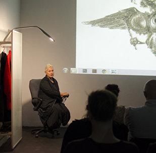 Художник, куратор 11-го международного симпозиума Аланика Катя Бочавар