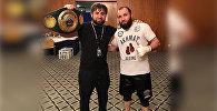 Аслан Козаев защитил титул чемпиона IBO Intercontinental