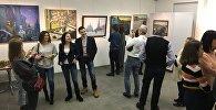 В Москве открылась выставка художника из Осетии Мурата Гогаева