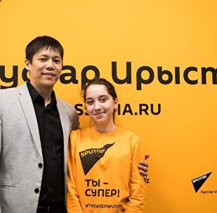 Виталий Раднаев и Лана Плиева