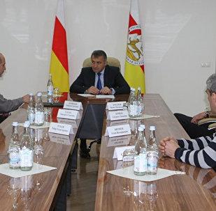 Встреча с представителями Союза художников