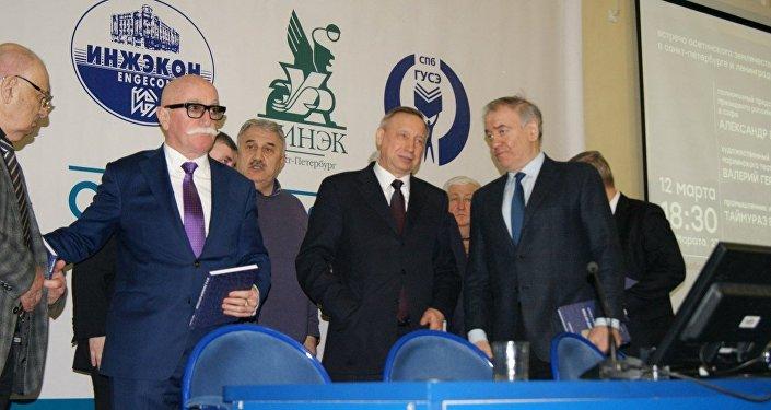 В Петербурге прошла встреча в поддержку Владимира Путина