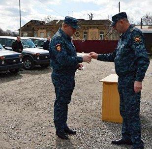 МВД Южной Осетии получило новые автомобили