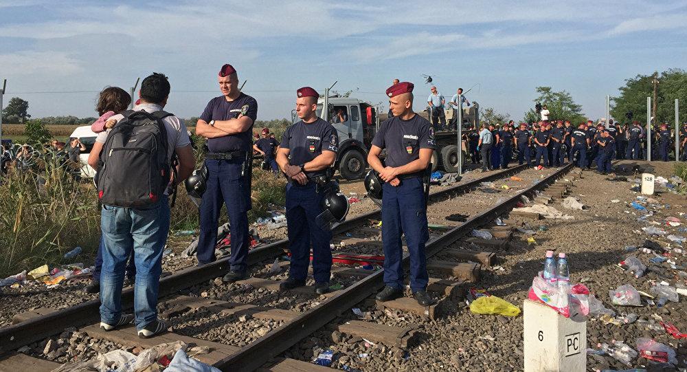 Ситуация на границе Венгрии