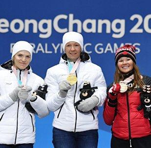 Паралимпиада 2018. Церемония награждения. Седьмой день