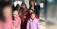 В Северной Осетии долгожительницу поздравили с днем рождения на участке