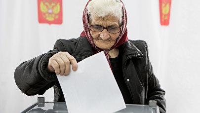 Выборы президента России в Южной Осетии