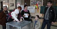 Выборв Президента РФ в Северной Осетии
