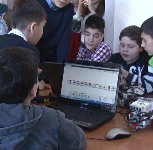 Соревнования по робототехнике FabLab Alania