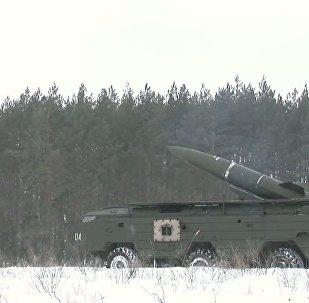 Подразделения войск РХБЗ провели учения под Курском