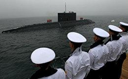 Генеральная репетиция военно-морского парада во Владивостоке