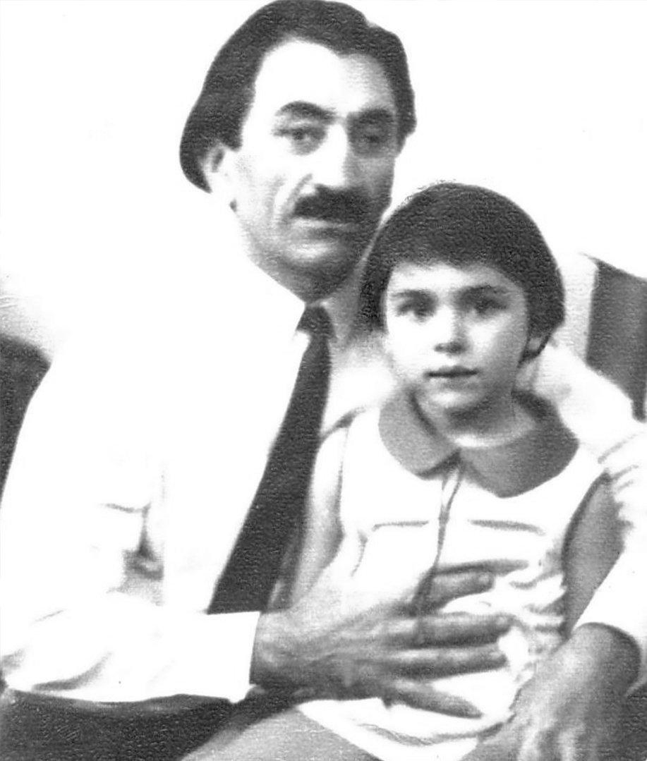 Григорий Котаев с дочкой Аленой