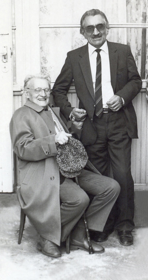 Григорий Котаев и Васо Абаев