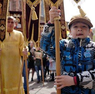 Вербное Воскресенье в городах России