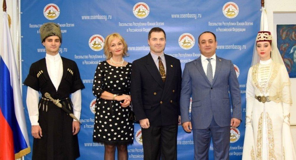 Прием в посольстве РЮО в РФ