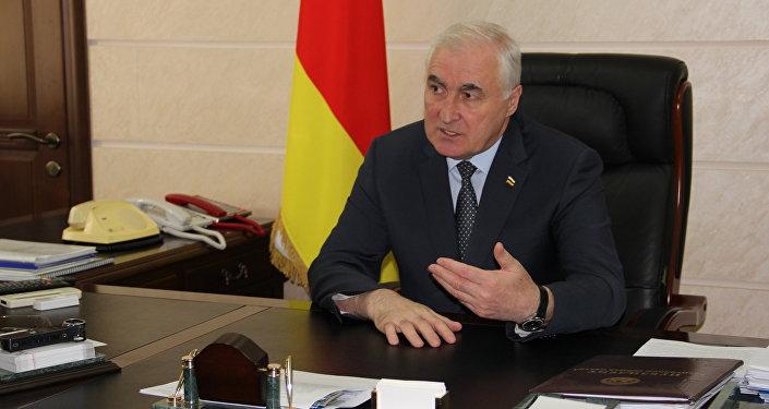 Президент РЮО Леонид Тибилов