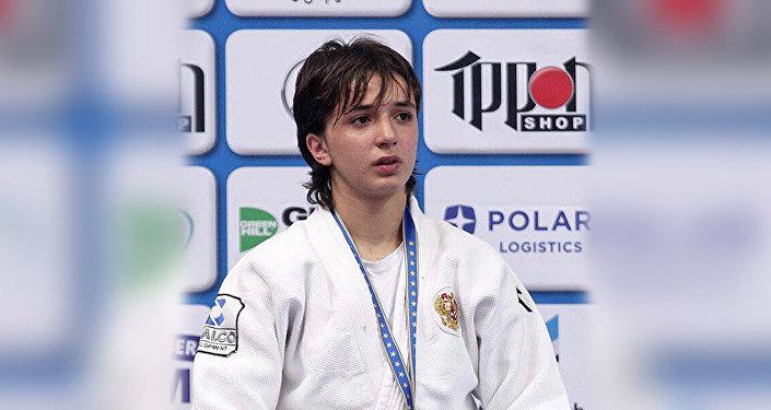 Ирэна Хубулова, чемпионка Кубка Европы по дзюдо