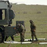 Учения экипажей береговых ракетно-артиллерийских комплексов в Краснодарском крае