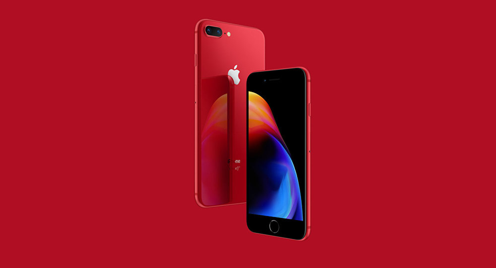 iPhone 8 Now in (RED)
