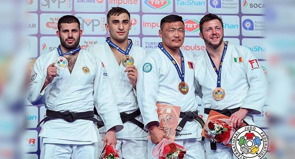 ЗЕЛИМ КОЦОЕВ - победитель Гран-при по дзюдо в Турции