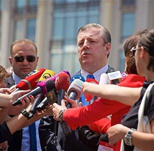 Глава правительства Грузии Георгий Квирикашвили