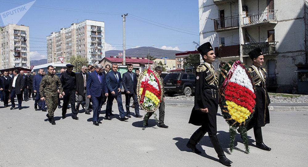Похороны Улифана Тедеева