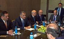 Встреча президента РЮО с делегацией САР