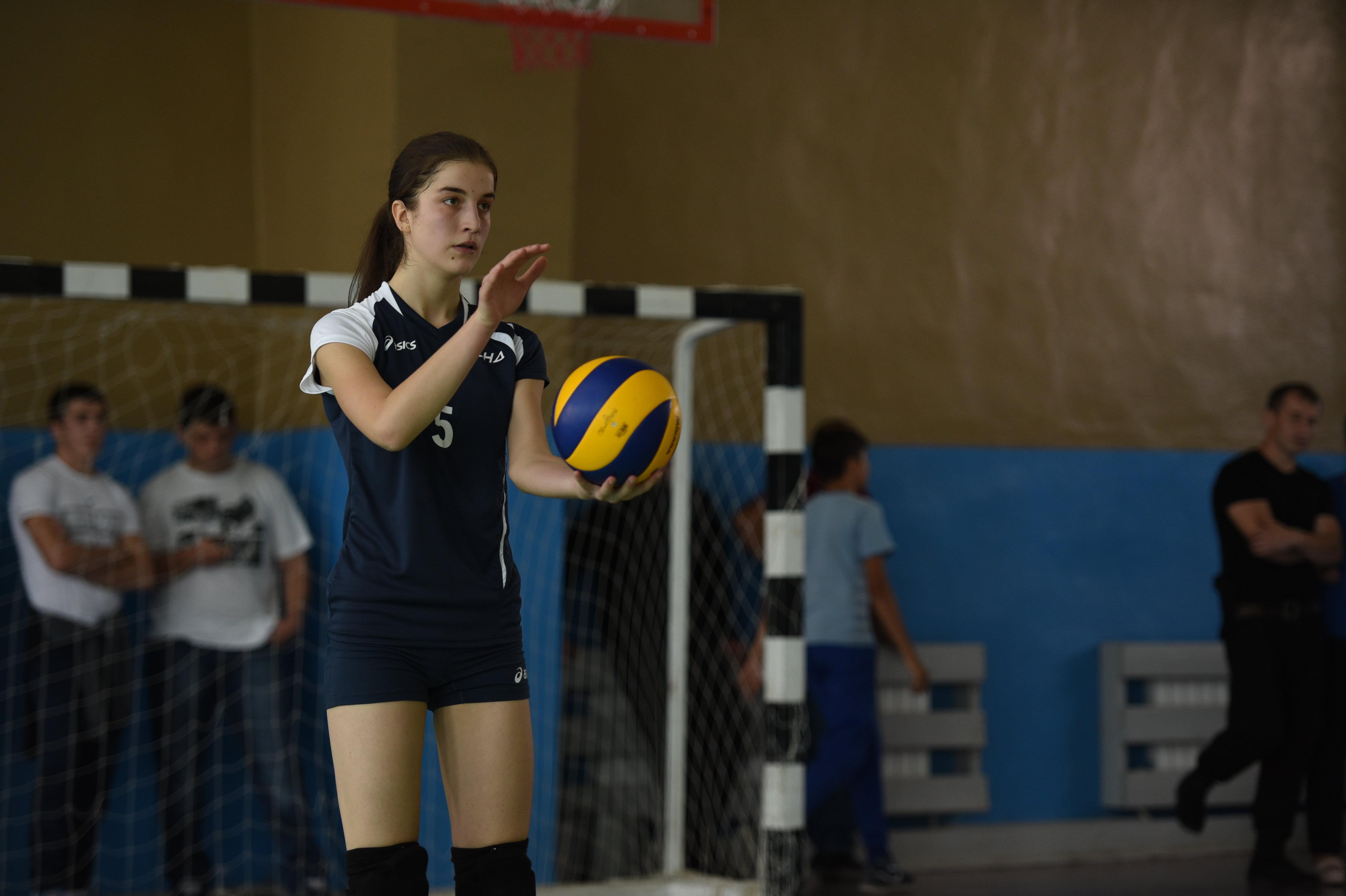 Международный турнир по волейболу в Цхинвале