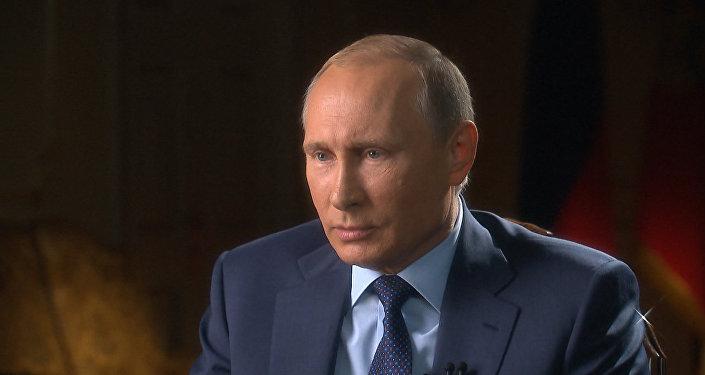 СПУТНИК_Интервью Путина каналам CBS и PBS: РФ в Сирии  и роль США в кризисе на Украине