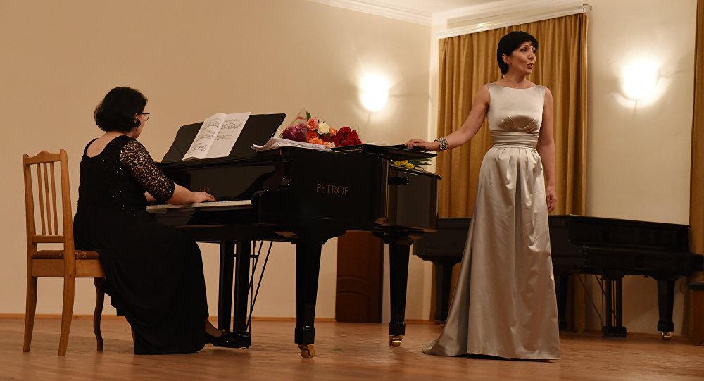 Вечер классической музыки в Цхинвале