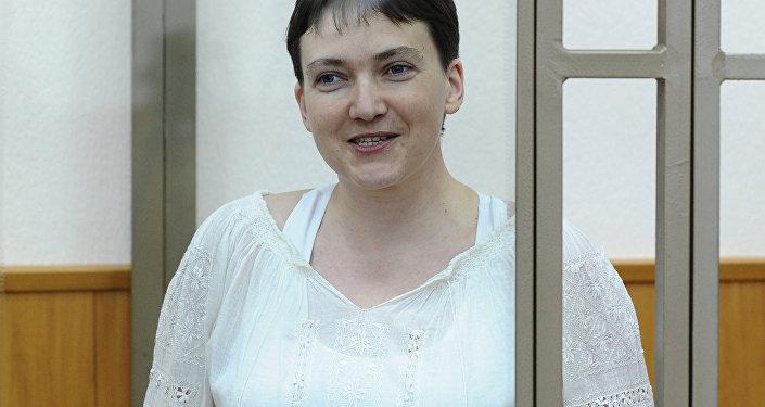 Очередное заседание суда по делу украинской летчицы Надежды Савченко