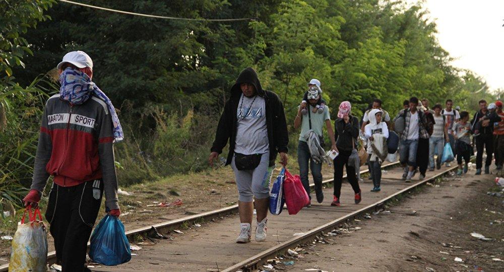 Ситуация с мигрантами в Европе