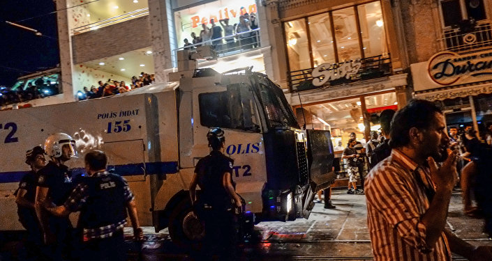 Турция, полиция