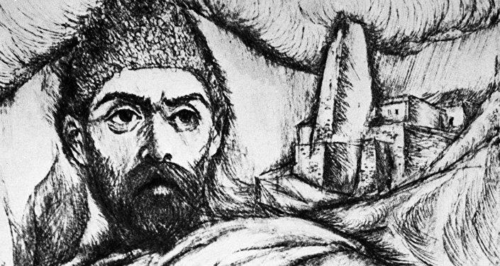 Репродукция картины Коста Хетагуров