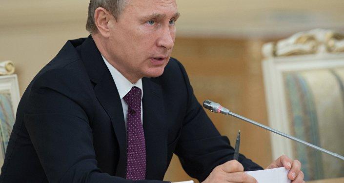 Визит президента РФ В.Путина в Казахстан