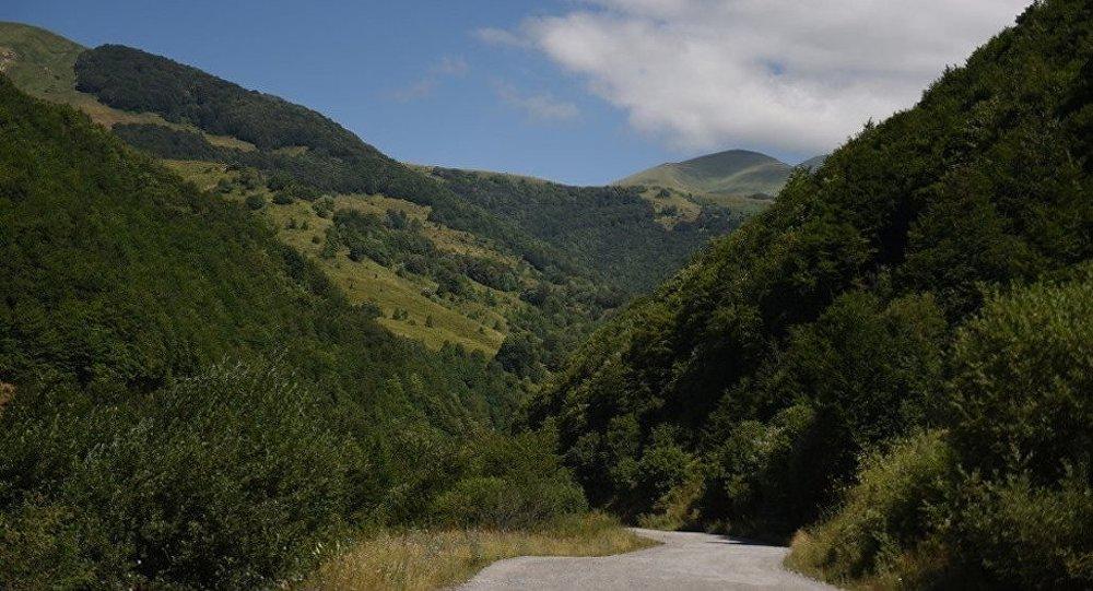 Кударское ущелье Южной Осетии