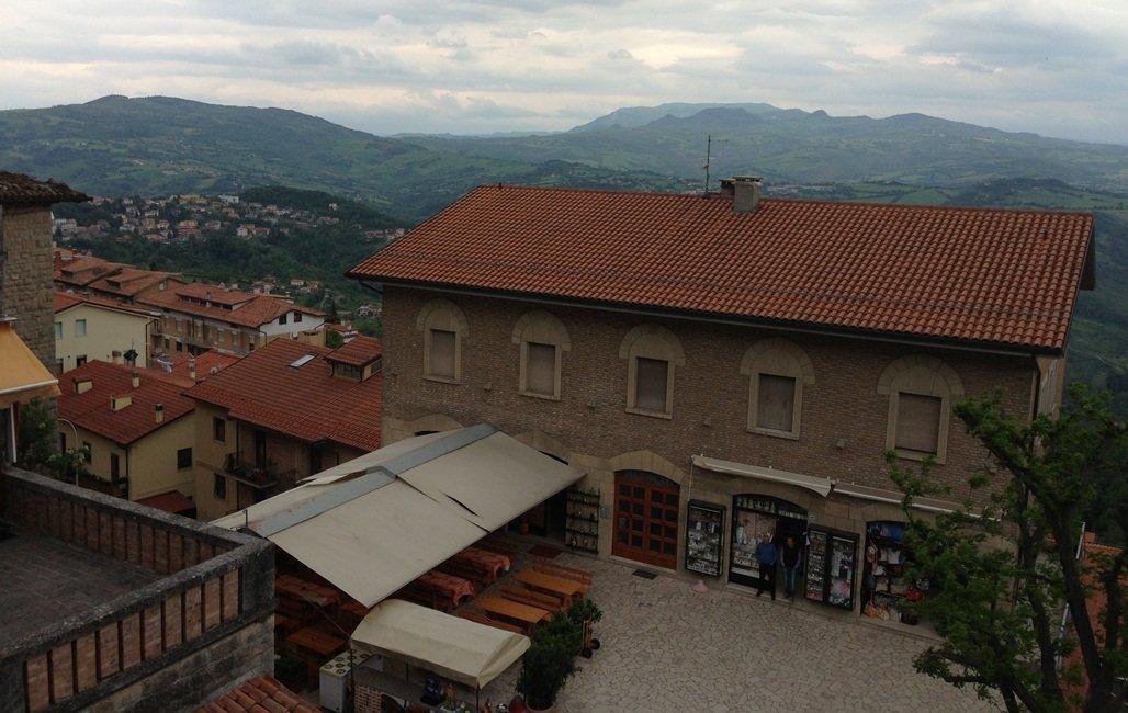 Вид на город Сан-Марино