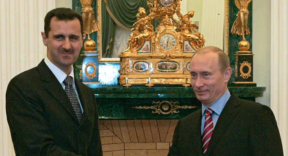 Владимир Путин, Башар Асад