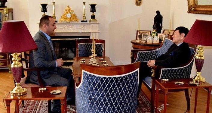 Встреча Посла РЮО в РФ с послом Перу