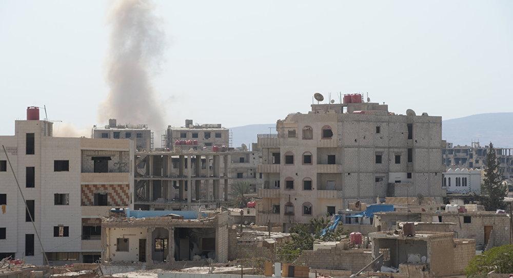 Ситуация в пригороде Дамаска Дарайе