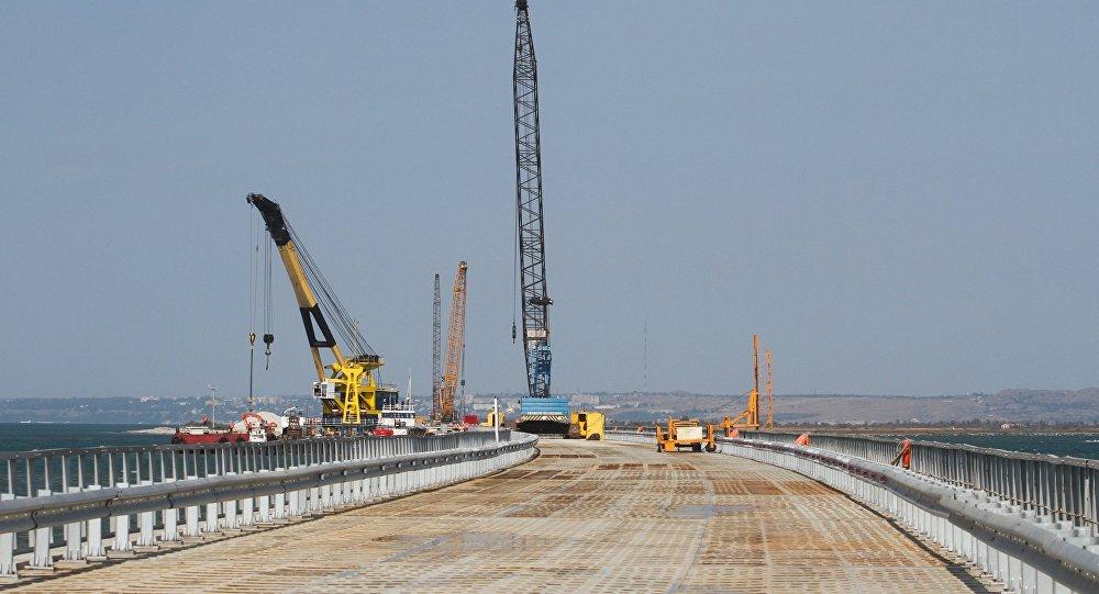Керченский мост(новое видео)