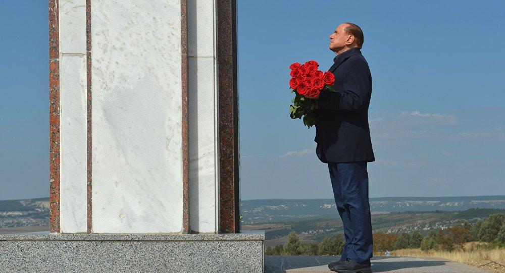 Экс-премьер Италии Сильвио Берлускони в Крыму.