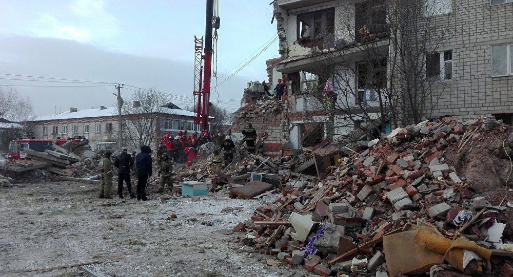 Взрыв газа в доме в Хабаровском крае