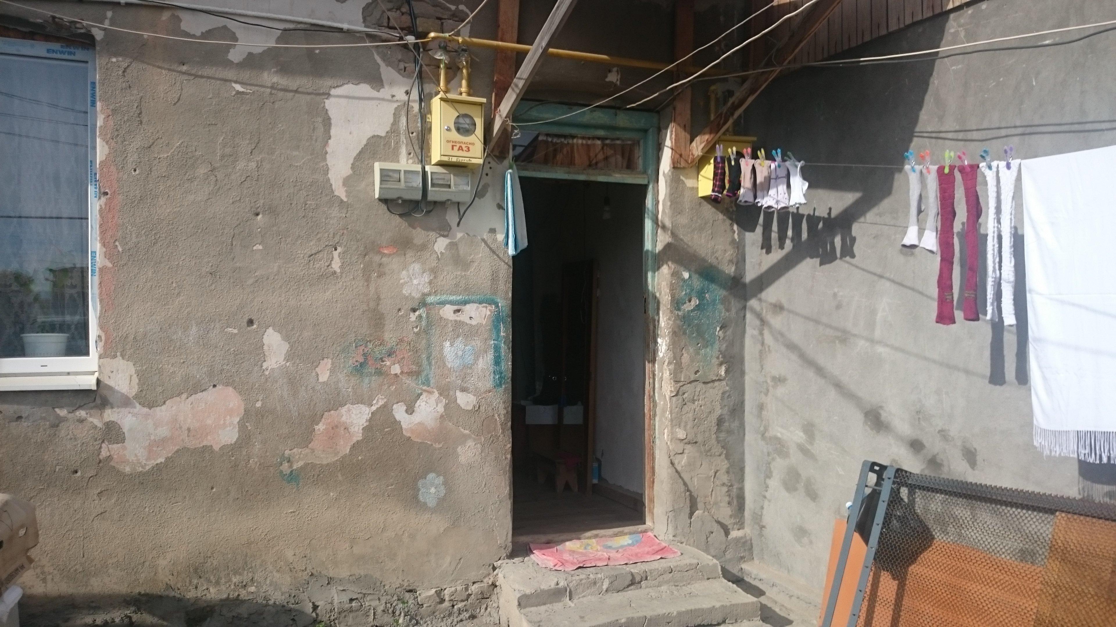 Бывшие бараки в Цхинвале