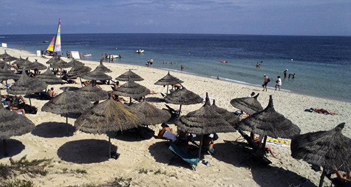 Пляж на Средиземном море