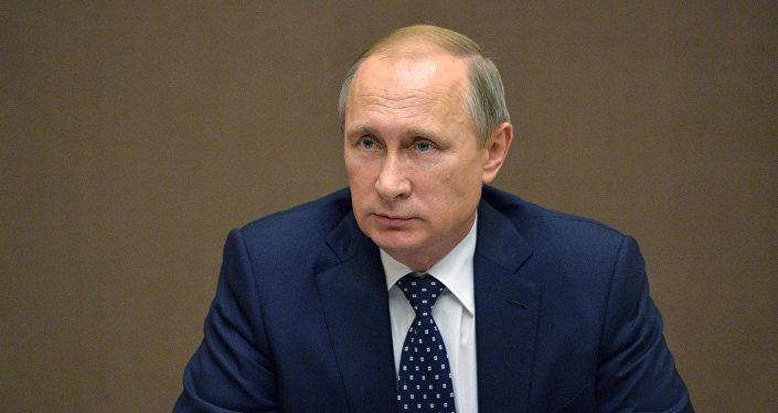 Президент России В.Путин провел заседание Совета безопасности РФ