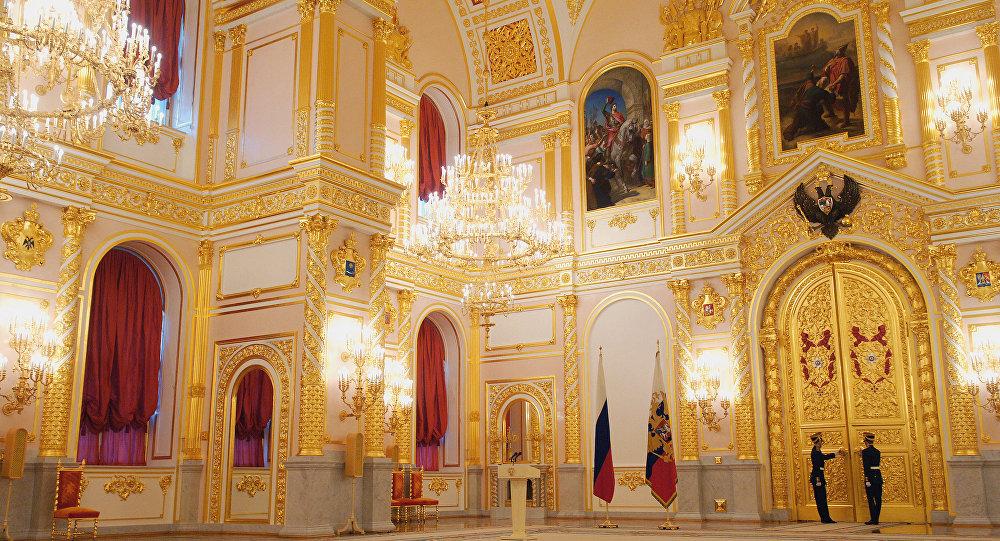 В Александровском зале Кремля