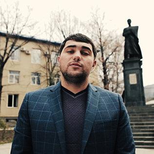 Руководитель Sputnik.Южная Осетия читает стихотворение К.Хетагурова