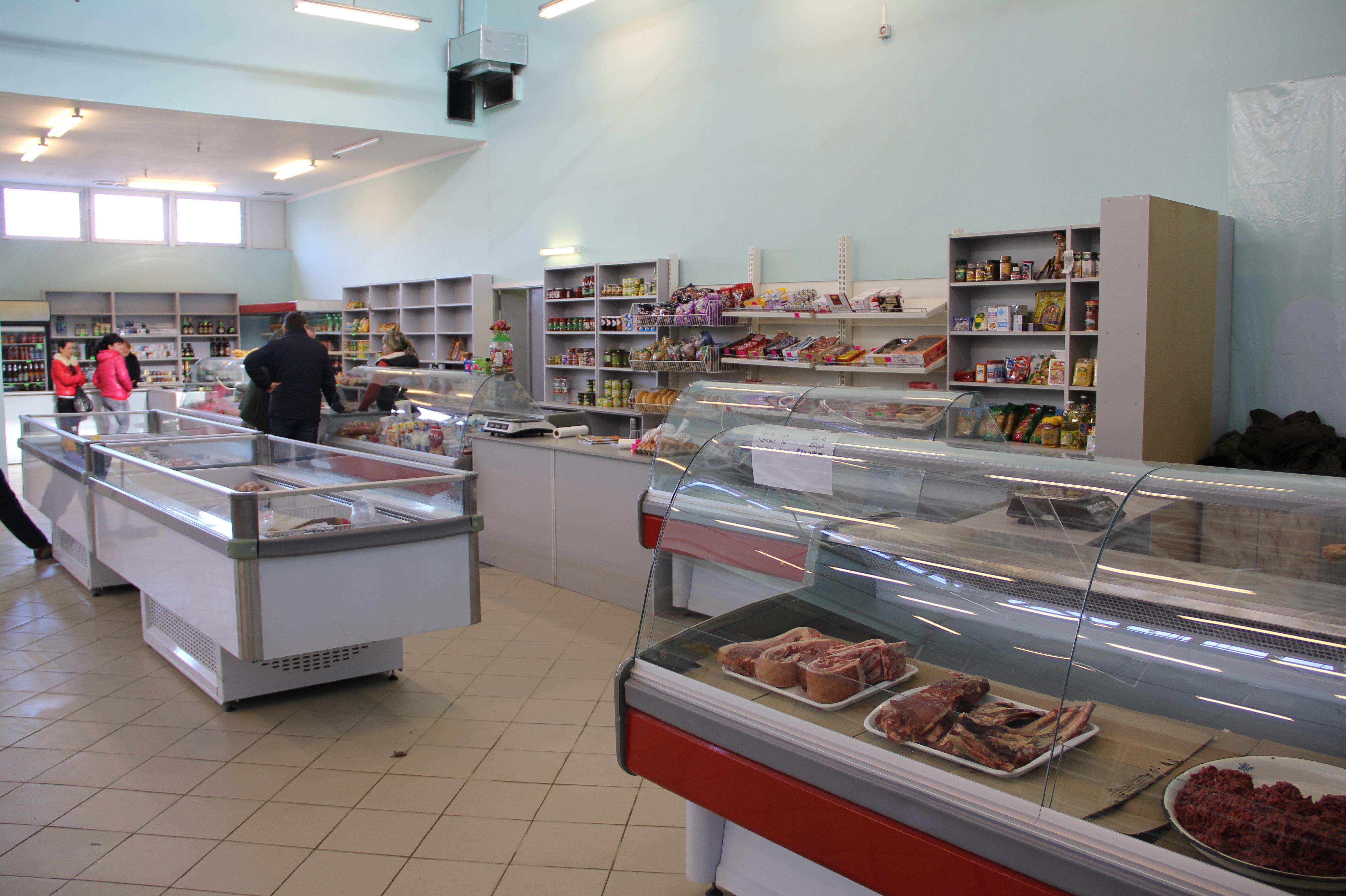 Торгцентр в микрорайоне Московский